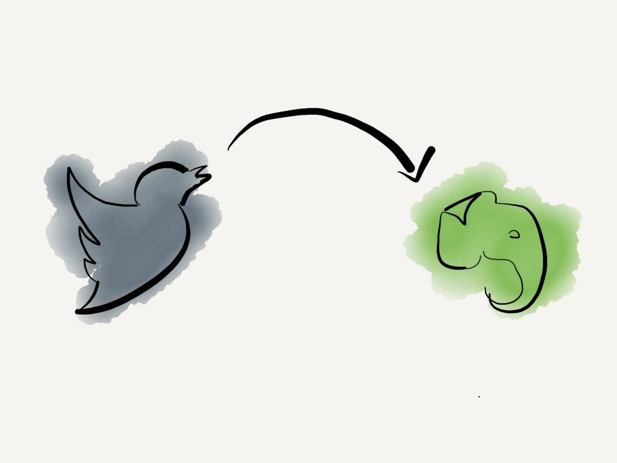 Save twitter threads to Evernote
