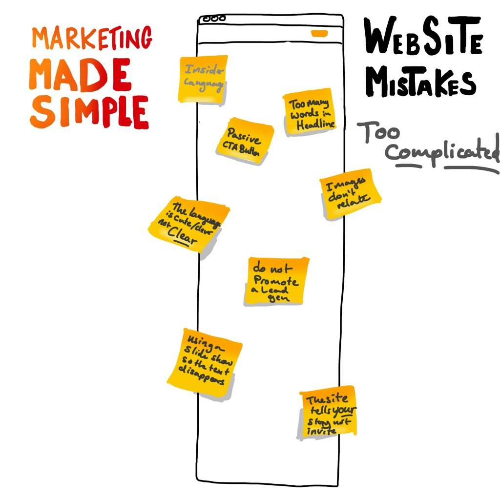 marketing made simple website mistakes