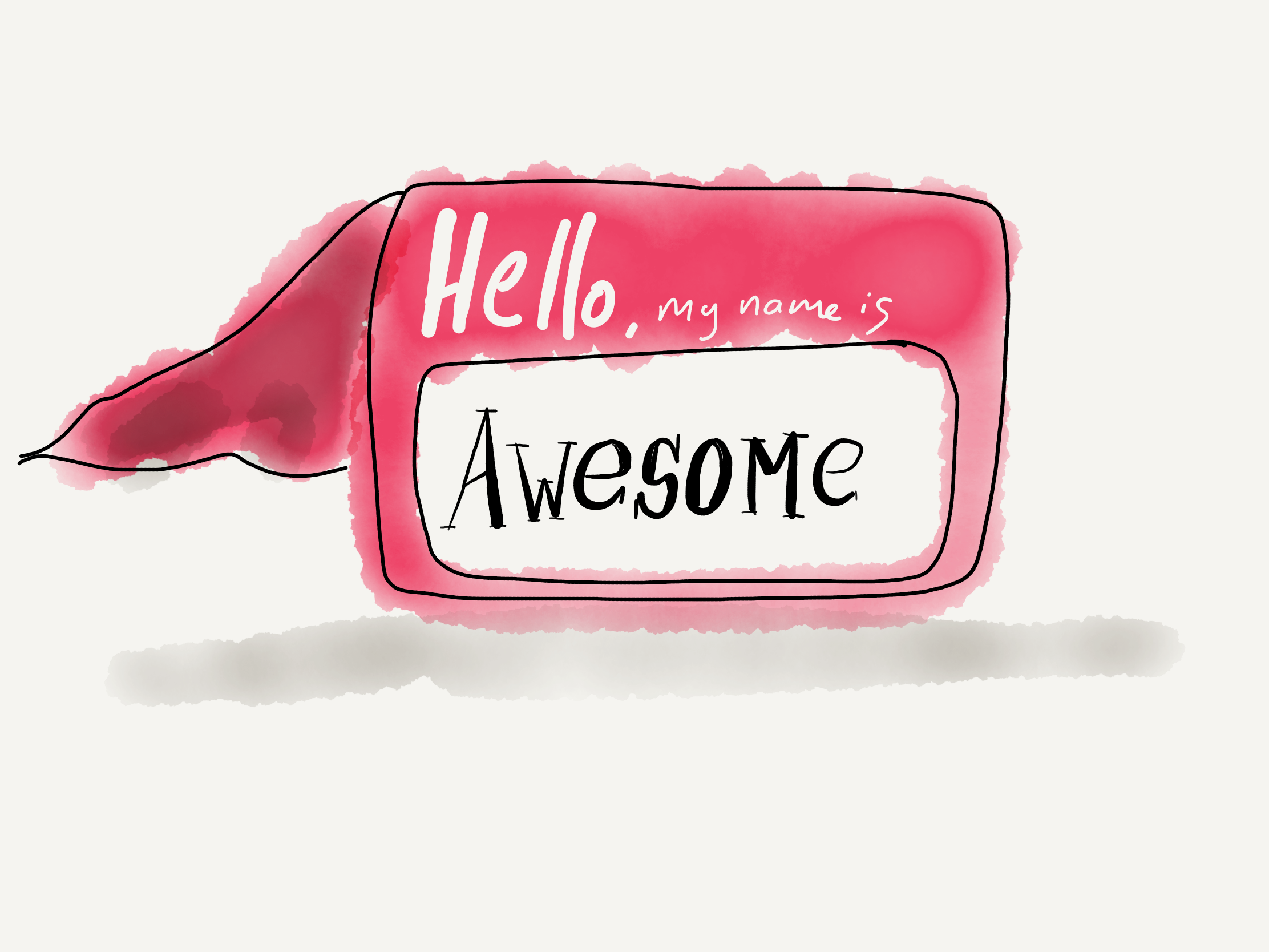 Hello my name is awesome book summary hero image
